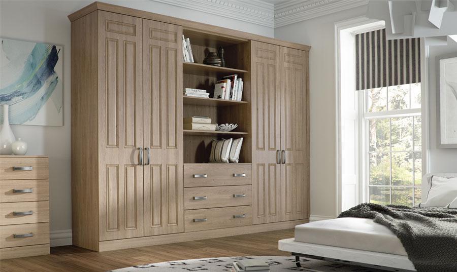 Bella Broadway Odessa Oak fitted Bedroom