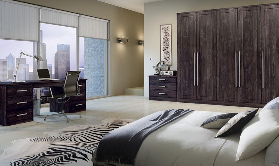 Bella Burnt Oak Ashford fitted Bedroom