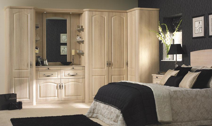 Bella Moldau Acacia Canterbury fitted Bedroom