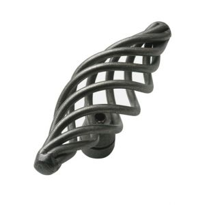 75mm Cage Handle Knob (pewter)