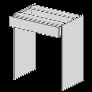 Freestanding Kneehole Drawer