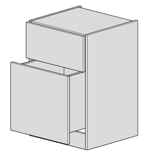 1 Large 1 Small Chest of Drawers