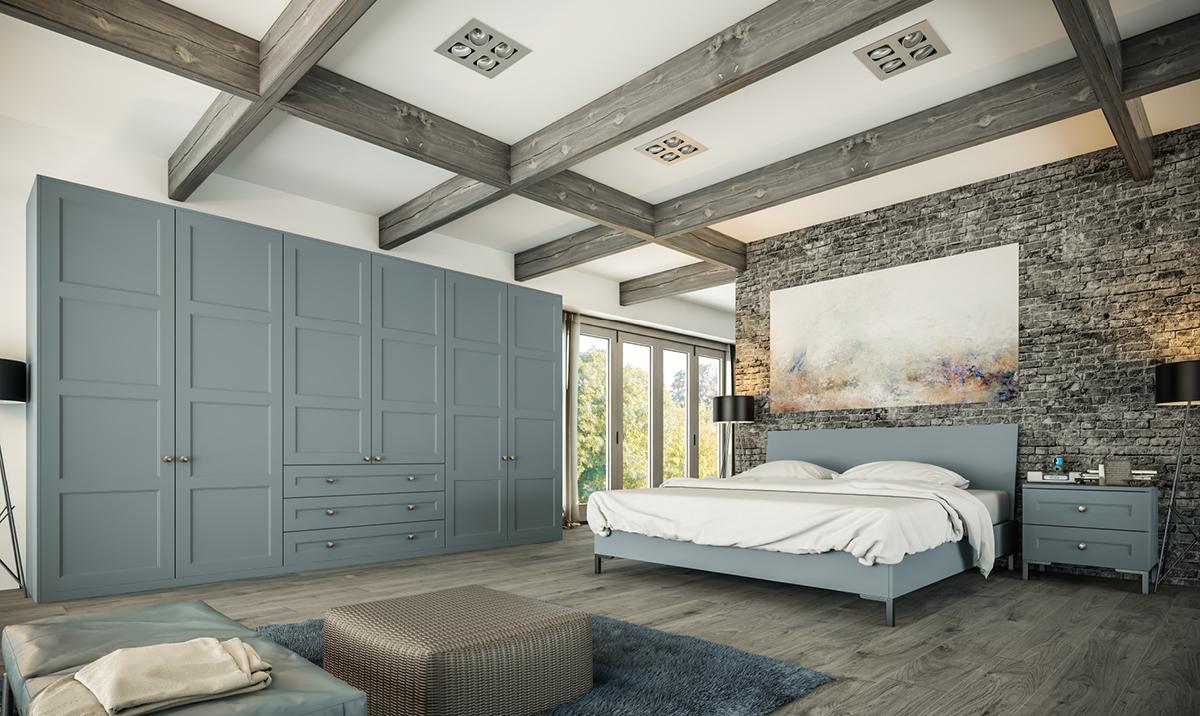 Bella Matt Denim Aldridge fitted Bedroom