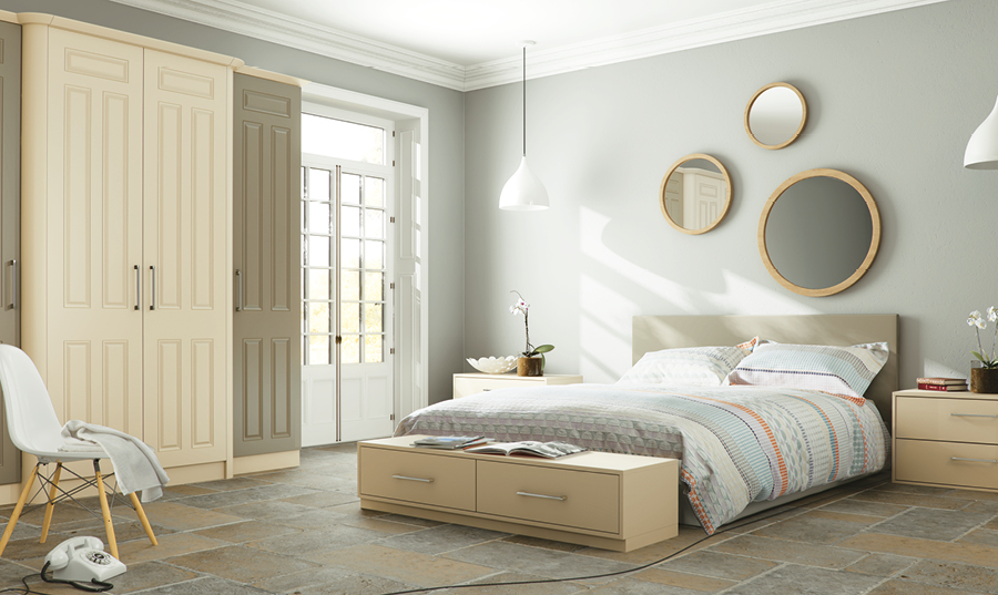 Bella Matt Mussel Matt Dakkar Broadway fitted Bedroom