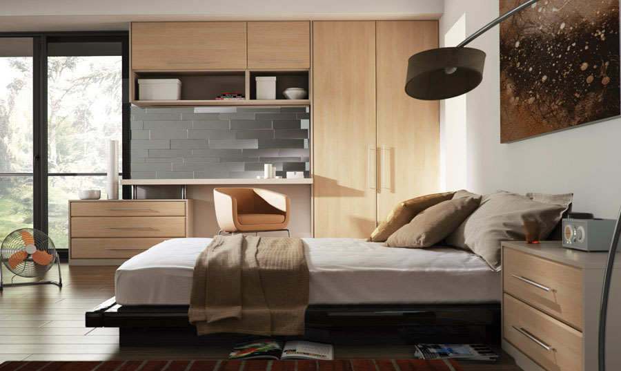 Bella Canadian Maple Lincoln fitted Bedroom