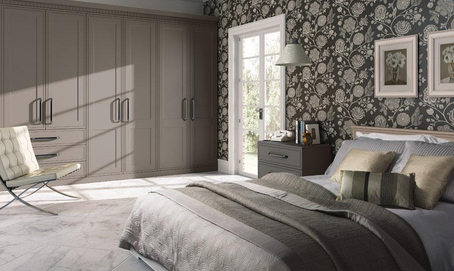 Bella Matt Sone Grey Tullymore fitted Bedroom