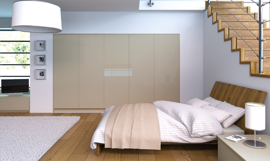 Zurfiz Metallic Champagne fitted Bedrooms