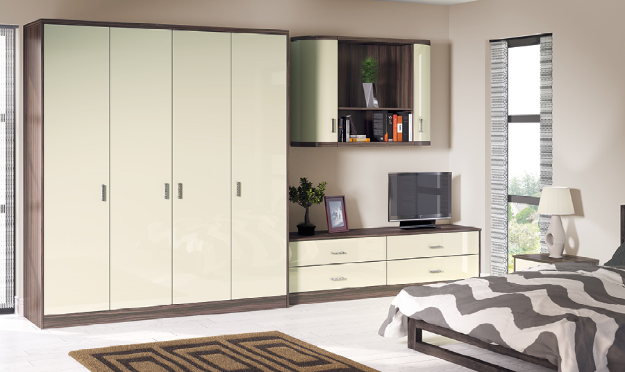 Zurfiz Ultragloss Mussel fitted Bedroom