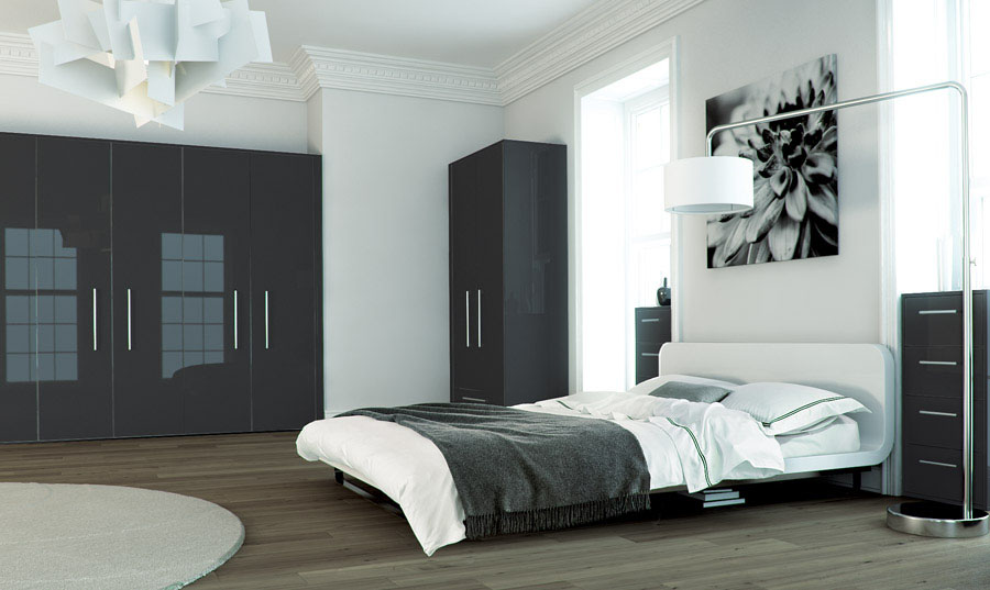 Zurfiz Metallic Anthracite fitted Bedroom