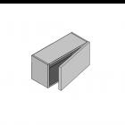 Top Box 415mm High Single Door