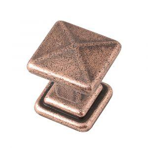 25mm Cross Knob (antique copper)