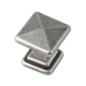 25mm Cross Knob (antique pewter)