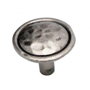 35mm Mottle Knob (pewter)