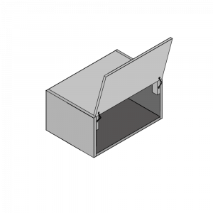 Top opening Single Bridging Unit 415 H x 580D