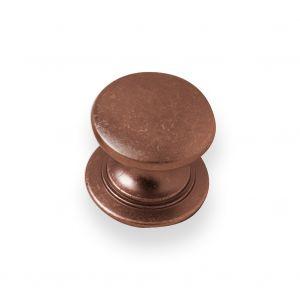 28mm Windsor Knob (brushed copper)
