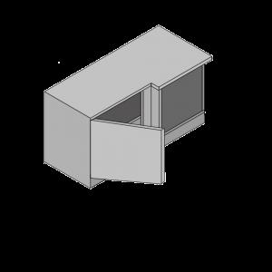 Highline Corner Unit With Blanking Panel