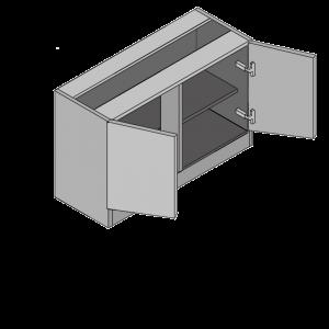 Highline Double Door Cabinet