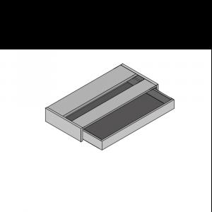 Kneehole Single Drawer