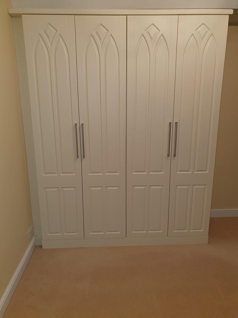 DIY Fitted wardrobes customer photograph